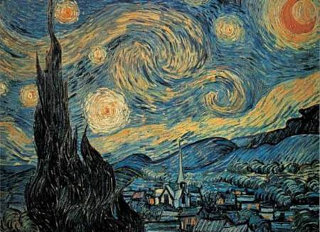Jigsaw Puzzle - Starry Night (#2801N09658G) - 1000 Pieces Ricordi