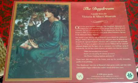 Jigsaw Puzzle - The Daydream - 1000 Pieces Historical Puzzle Collection