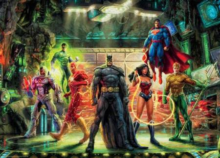 Ceaco Jigsaw Puzzle - The Justice League (3154-02) - 1000 Pieces Ceaco