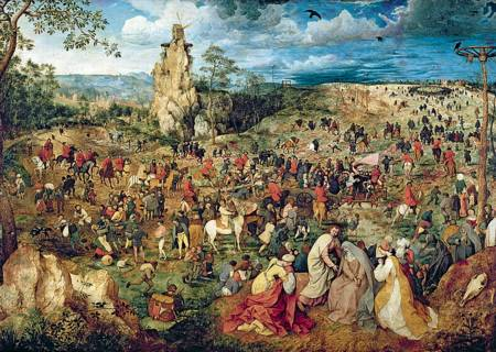 Jigsaw Puzzle - The Road to Calvary (10292)