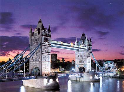 Glow in Dark Jigsaw Puzzle - Tower Bridge - 1000 Pieces Clementoni