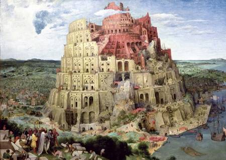 Jigsaw Puzzle - Tower of Babel (45001)