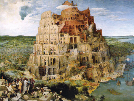 Jigsaw Puzzle - Tower of Babel - 1000 Pieces Clementoni