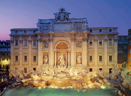 Jigsaw Puzzle - Trevi Fountain - Rome - 2000 Pieces Clementoni