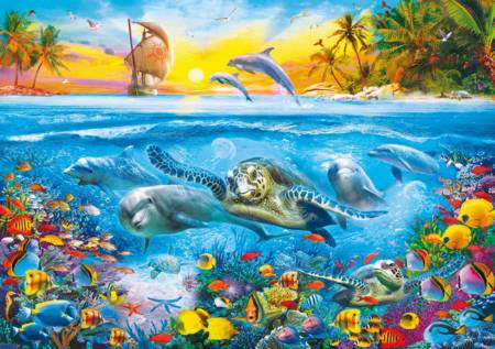 Jigsaw Puzzle - Underwater (36523) - 6000 Pieces Clementoni
