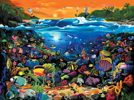 Jigsaw Puzzle� -Underwater Fun - 1000 Pieces Ravensburger