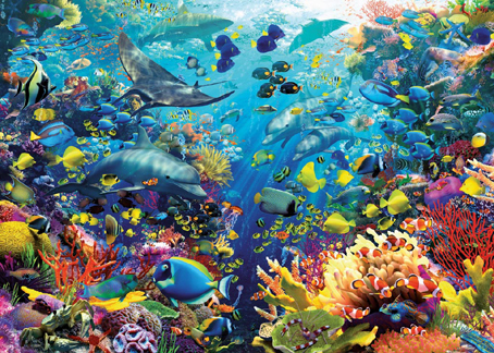Jigsaw Puzzle - Underwater Paradise - 9000 Pieces Ravensburger