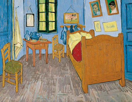 Jigsaw Puzzle - Van Gogh's Room - 1000 Pieces Clementoni