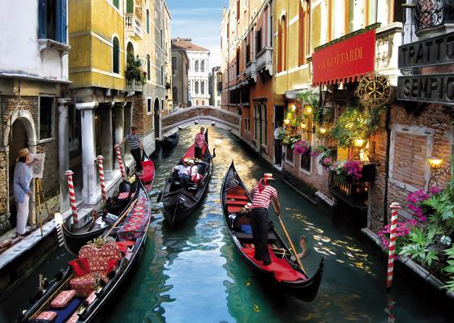 Wooden Jigsaw Puzzle - Venice  (#542005) - 250 Pieces Wentworth