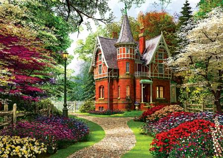 Jigsaw Puzzle - Victorian Cottage (10355)