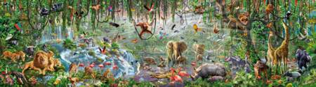 Jigsaw Puzzle - Wildlife - 33600 Pieces Educa