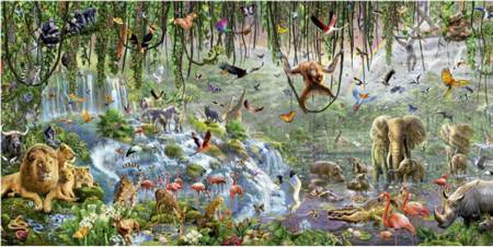 Jigsaw Puzzle - Wildlife (#17133) - 3000 Educa