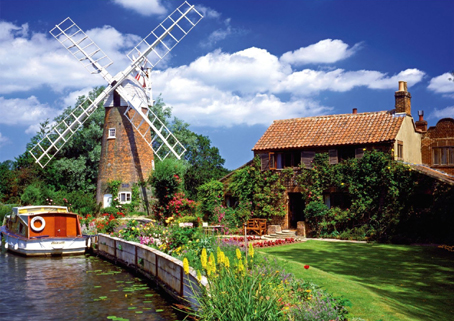 Jigsaw Puzzle - Windmill Country - 1000 Pieces Ravensburger