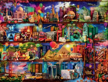 Jigsaw Puzzle - World of Books - 2000 Pieces Ravensburger