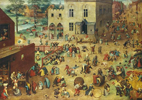 bruegel childrens games jigsaw puzzle