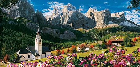 Jigsaw Puzzle Dolomites 38007 13 200 Pieces Clementoni