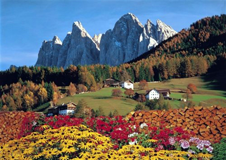 jigsaw puzzle dolomites 6000 pieces clementoni. Black Bedroom Furniture Sets. Home Design Ideas