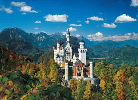 jigsaw puzzle neuschwanstein castle 34517 4000 pieces clementoni. Black Bedroom Furniture Sets. Home Design Ideas